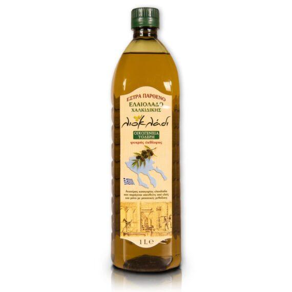 Oliwa z oliwek extra virgin Liocladi butelka pet 1l 0,5%   Kolebka Smaku