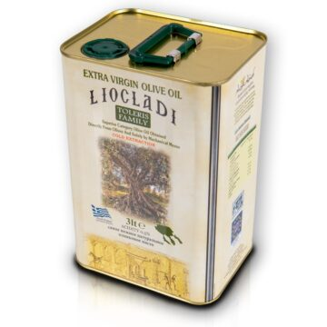 Oliwa z oliwek extra virgin Liocladi puszka 3L 0,5% | Kolebka Smaku