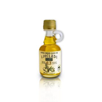 Oliwa z oliwek extra virgin Liocladi premium szklana butelka 40 ml 0,3% | Kolebka Smaku