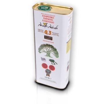 Oliwa z oliwek extra virgin Liocladi premium puszka 1,5l 0,3% | Kolebka Smaku