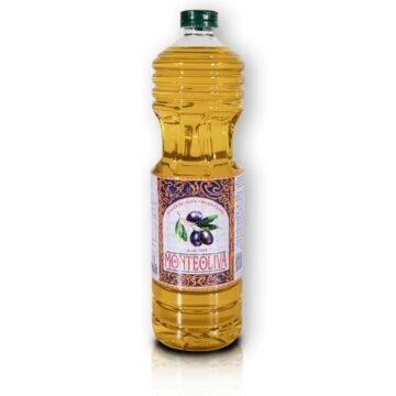 Organiczna oliwa z oliwek extra virgin filtrowana butelka pet 1L Monteoliva | Kolebka Smaku