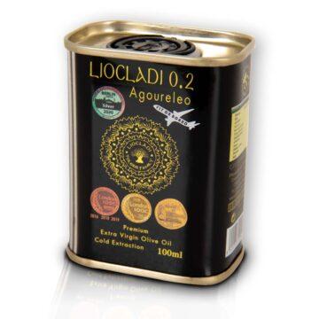 Oliwa z oliwek extra virgin Liocladi premium puszka 100 ml 0,2% | Kolebka Smaku