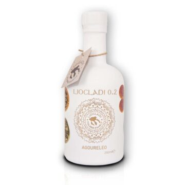 Oliwa z oliwek extra virgin Liocladi premium szklana butelka biała 250 ml 0,2% | Kolebka Smaku