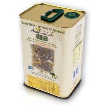 Oliwa z oliwek extra virgin Liocladi puszka 3 litry 0,5% | Kolebka Smaku