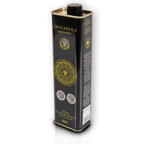 Oliwa z oliwek extra virgin Liocladi premium puszka 500 ml 0,2% | Kolebka Smaku