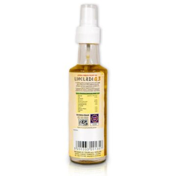 Oliwa z oliwek extra virgin Liocladi premium szklana butelka spray 100 ml 0,3%   Kolebka Smaku