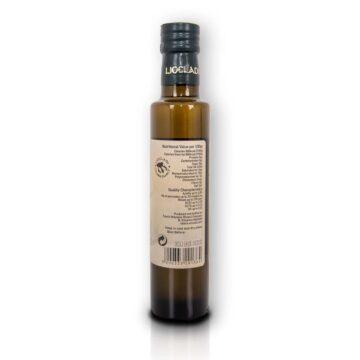 Oliwa z oliwek extra virgin Liocladi smakowa szklana butelka 250 ml cytryna | Kolebka Smaku