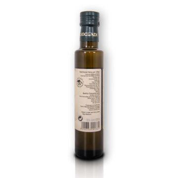 Oliwa z oliwek extra virgin Liocladi smakowa szklana butelka 250 ml pomarańcz | Kolebka Smaku