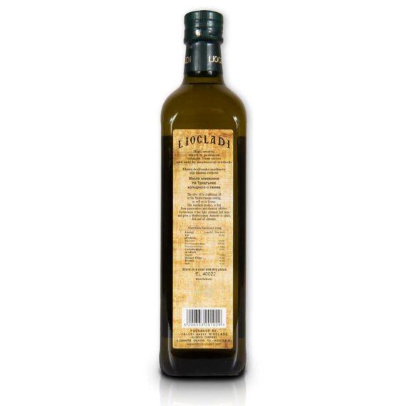 Oliwa z oliwek extra virgin Liocladi szklana butelka 750 ml 0,5% | Kolebka Smaku