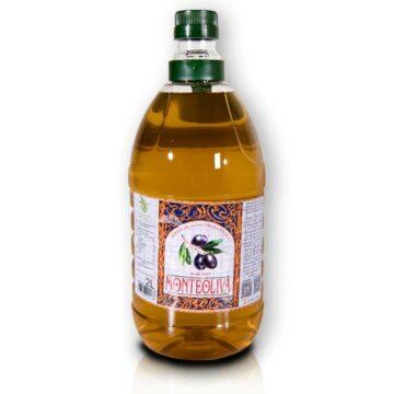 Organiczna oliwa z oliwek extra virgin filtrowana butelka pet 2L Monteoliva | Kolebka Smaku