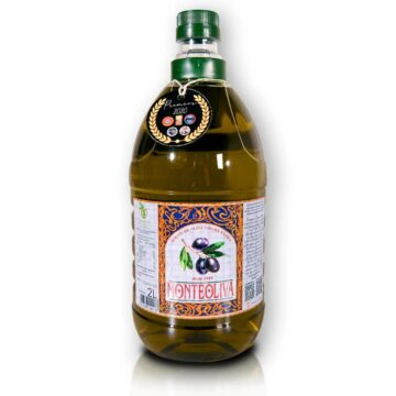 Organiczna oliwa z oliwek extra virgin niefiltrowana premium butelka pet 2L Monteoliva   Kolebka Smaku