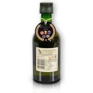 Organiczna oliwa z oliwek extra virgin premium ORO butelka pet 500 ml Monteoliva   Kolebka Smaku