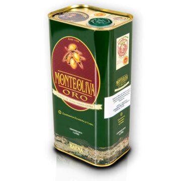 Oliwa z oliwek extra virgin Monteoliva puszka 1L PREMIUM D.O.P. BAENA | Kolebka Smaku